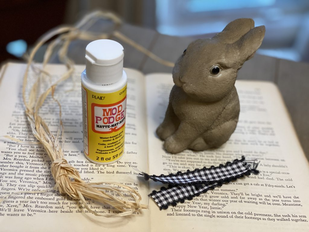 Farmhouse bunny supplies