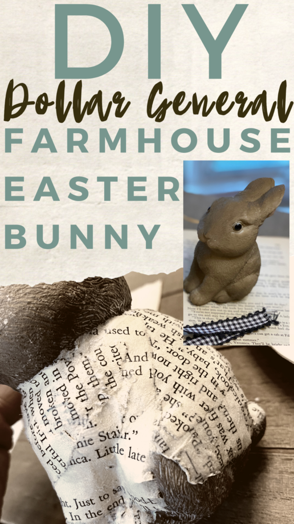Farmhous Easter Bunny