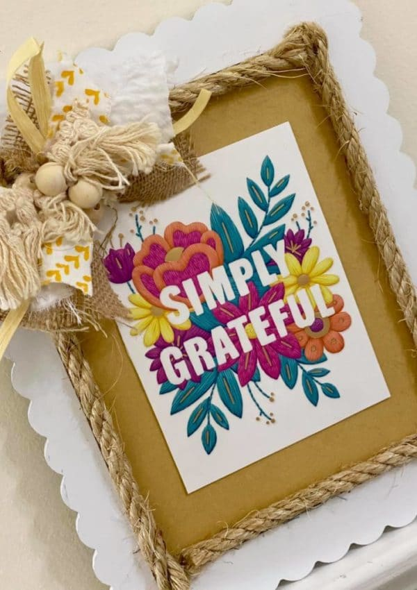 DIY Greeting Card Sign